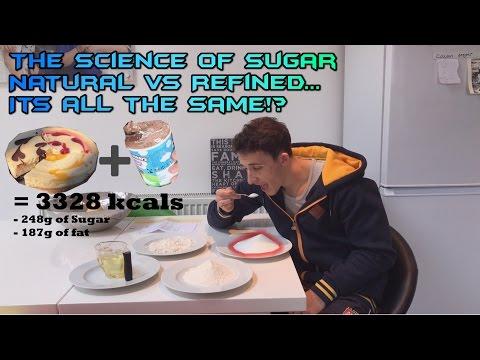 The Science of Sugar - Natural vs. Refined Sugar/Fructose & Alcohol/Sugar & Weight Gain