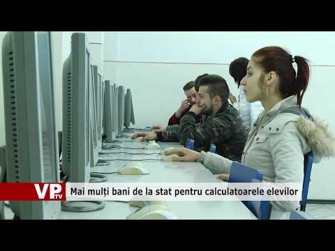 Mai mulți bani de la stat pentru calculatoarele elevilor