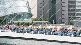 Riverdance Longest Line World Record 21st July 2013