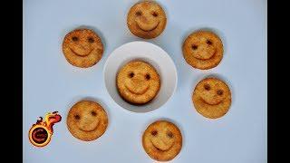 Potato Smiley Recipe||Homemade Potato Smiley|Crispy Potato Fries|Ep:284