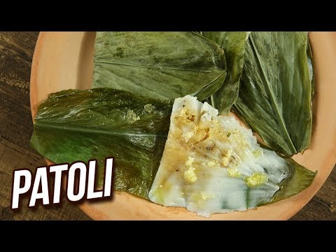 Patole Recipe – How To Make Patoli At Home – Maharashtrian Sweet Recipe – Varun – Rajshri Food