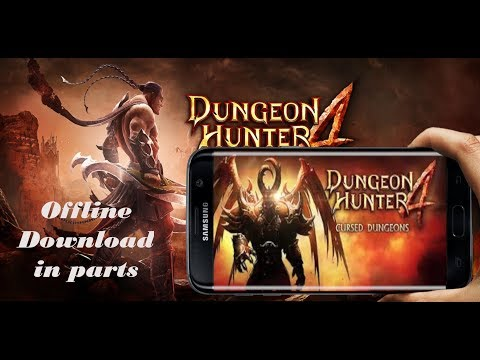 Dungeon Hunter 4 || Offline || Mod Apk+data