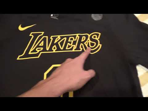 Los Angeles Lakers Kyle Kuzma Player Shirt & Pau Gasol Jersey Unboxing/Review