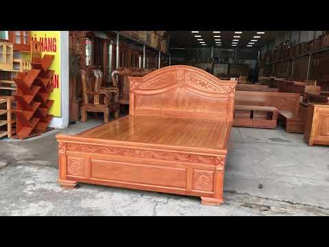 Giường phản gỗ Đinh Hương cao cấp