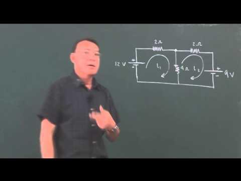 Clase 62: Teoría sobre las leyes de Kirchhoff, más un problema.