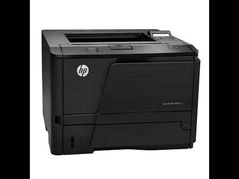 HP LASERJET PRO 400 M401N MANUTENÇÃO REPARO MAINTENANCE REPAIR