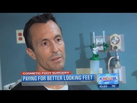Cosmetic Surgery For Your Feet – Dr Moore KHOU.com
