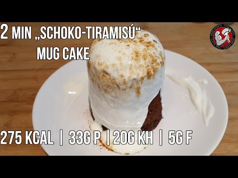 Schoko Tiramisu Mug Cake