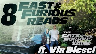 Nonton 8 Fast & Furious Reads + Fate of the Furious Screening FT VIN DIESEL | Books and Looks Film Subtitle Indonesia Streaming Movie Download
