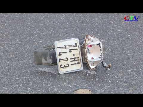 Ô tô tải va cham xe máy 1 người tử vong