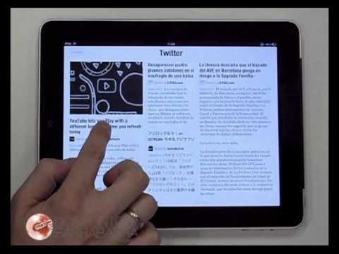 Así es Flipboard en iPad