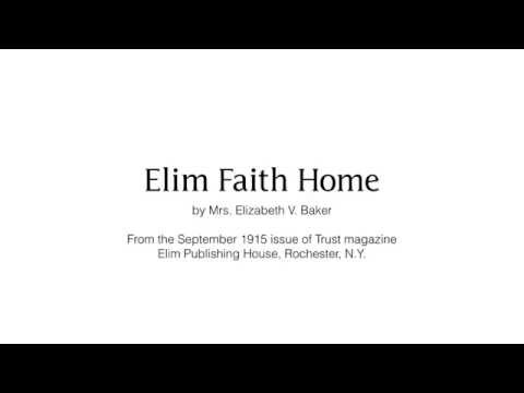Elim Faith Home