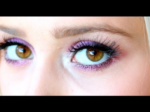 Smokey Lilac Mineral Makeup- Beauty Babble (AND GIVEAWAY)