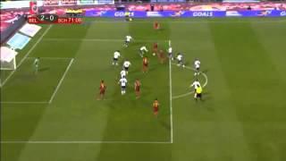 Vincent Kompany Treffer gegen Schottland