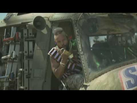 Mr. T / Snickers Helicopter and Pool Advert: Mr. T is Back!