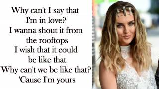 Little Mix - Secret Love Song [Without Jason Derulo] (Lyrics + Pictures)