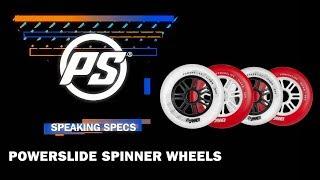 Inlineshjul Powerslide Spinner 110mm/88A Röd