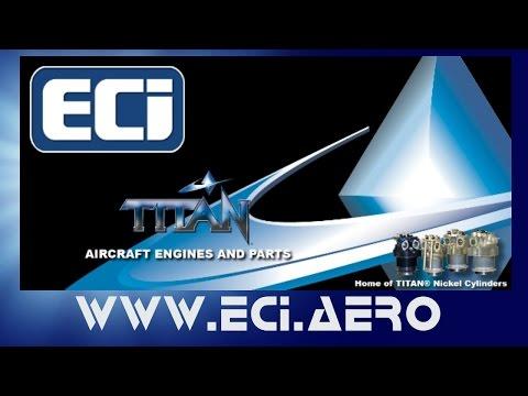 ECI's Titan 180 HP light sport aircraft engine, ASTM Compliant!