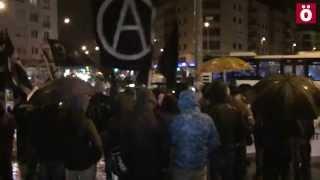 Denuncia anarquista en Iruñea de la represión del Estado