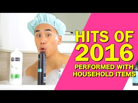 Musician Andrew Huang Performs Hit Songs From 2016 With Household