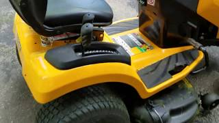 4. ***UH OH!!!*** Cub Cadet, we have a problem...