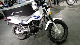 7. 2013 Yamaha TW200 - Walkaround - 2013 Montreal Motorcycle Show
