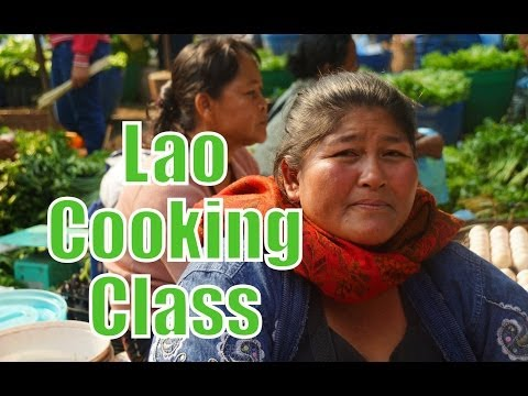 Lao Cooking Class at Tamarind in Luang Prabang, Laos travel video