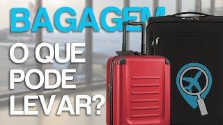 Bagagens em aviões: saiba o que pode levar e o peso permitido