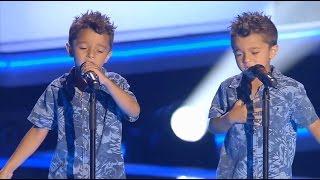 """Video Antonio y Paco: """"Te Quiero, Te Quiero"""" - Audiciones a Ciegas - La Voz Kids 2017 MP3, 3GP, MP4, WEBM, AVI, FLV Maret 2018"""