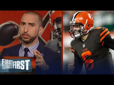 Nick Wright on Baker Mayfield's debut: 'A star in the NFL is born'  NFL  FIRST THINGS FIRST