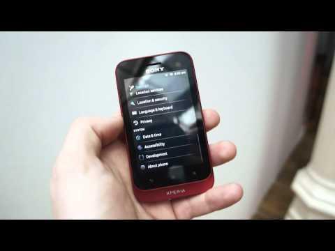 Sony Xperia Tipo 實機上手測試影片