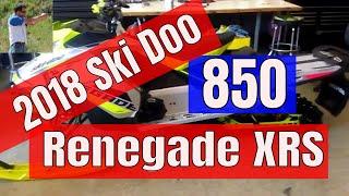 6. New 2018 Ski Doo Renegade XRS 850