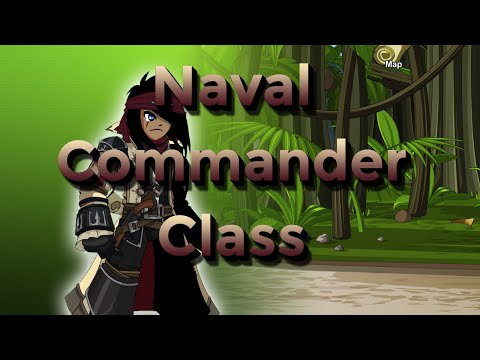 AQW - How to Use Naval Commander Class