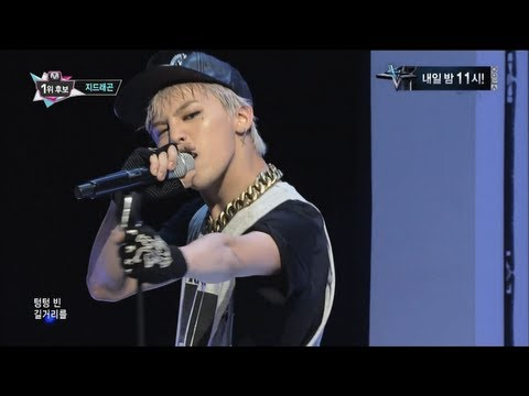 G-DRAGON_0926_M Countdown_삐딱하게 (CROOKED) + No.1 of the week