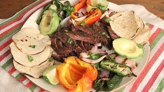 How to Make Carne Asada | Ep. 1272 by Laura in the Kitchen