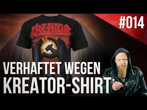 Verhaftet wegen KREATOR-Shirt   Ghostwriter im Metalcore    WEEKLY WARFARE #014