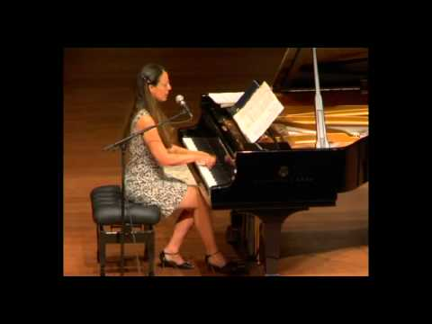 Orit Wolf Chopin Concert at the Tel Aviv Museum March 2011