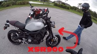 10. 2016 Yamaha XSR900 already has issues (Brief overview)