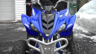 3. Yamaha Raptor 350 walk-around/Review |The Quad is a Rocket!|