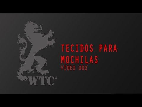 Tecidos para Mochilas - Vídeo 002
