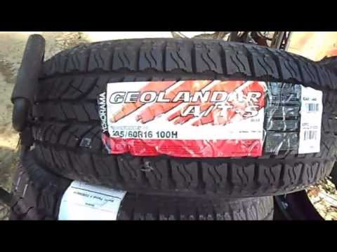 Yokohama 205/60/16 A/T Tires Install and Review