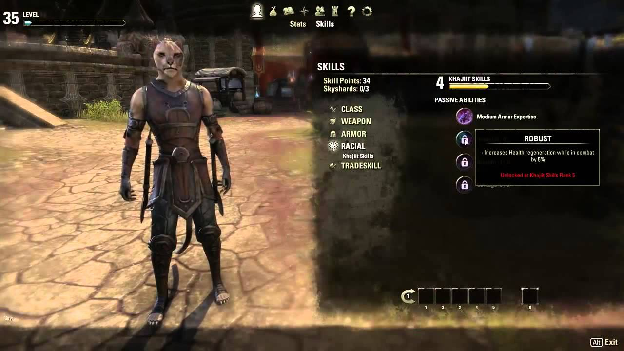 Elder Scrolls Online: видео - Character Progression - Be Who You Want to Be (RUS)