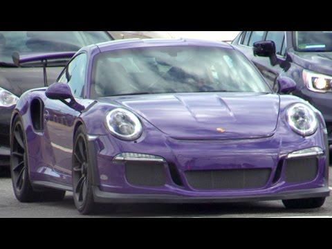 Caitlyn Jenner Takes Her $200K Purple Porsche For A Spin In Malibu