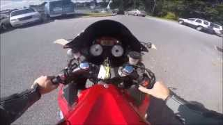 10. 2010 Kawasaki Ninja ZX-14R riding Review
