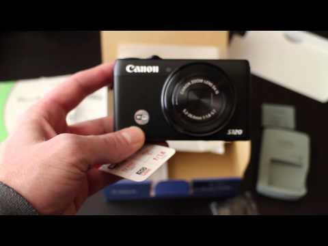Canon PowerShot S120 unboxing