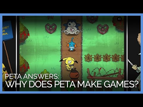 PETA Games: Mario, Pokémon, Cooking Mama, And Kitten Squad | PETA Video Answers