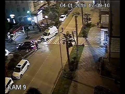 Авария с пешеходом в Сочи