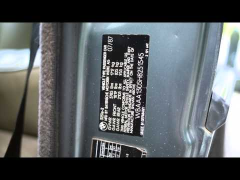 Bmw vin description фотография