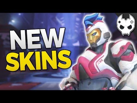 Overwatch - NEW SKINS - Zarya Bastion Soldier 76 Pharah - ANNIVERSARY EVENT