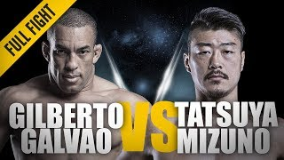 Video ONE: Full Fight | Gilberto Galvao vs. Tatsuya Mizuno | The Brazilian Juggernaut | September 2016 MP3, 3GP, MP4, WEBM, AVI, FLV Oktober 2018